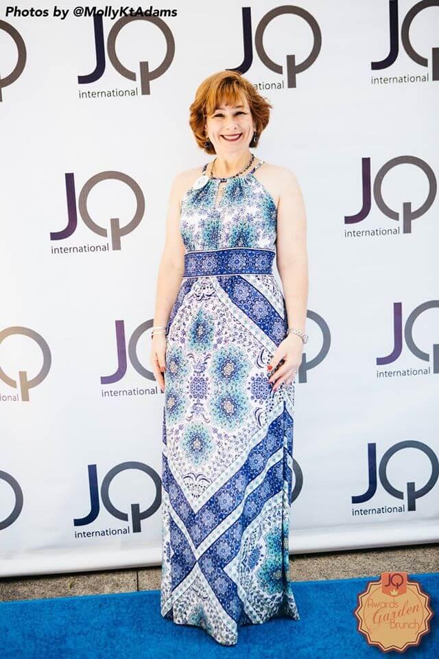 Deborah at the JQ event