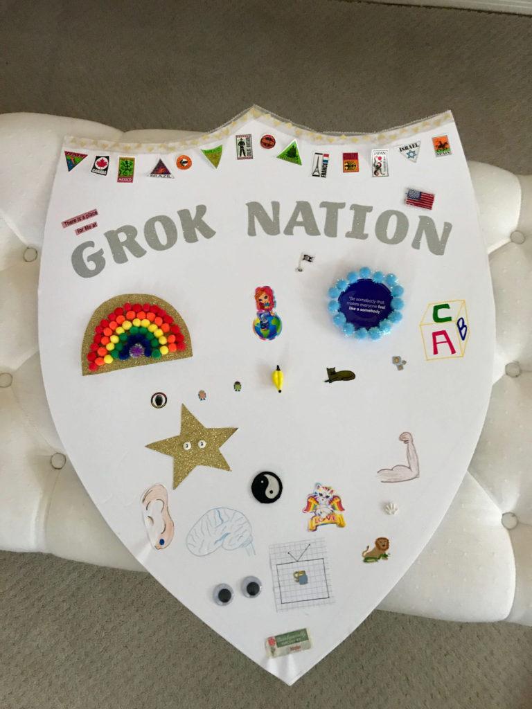 Completed Grok Nation crest