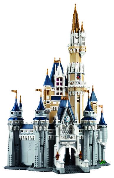 Disney Castle LEGO set
