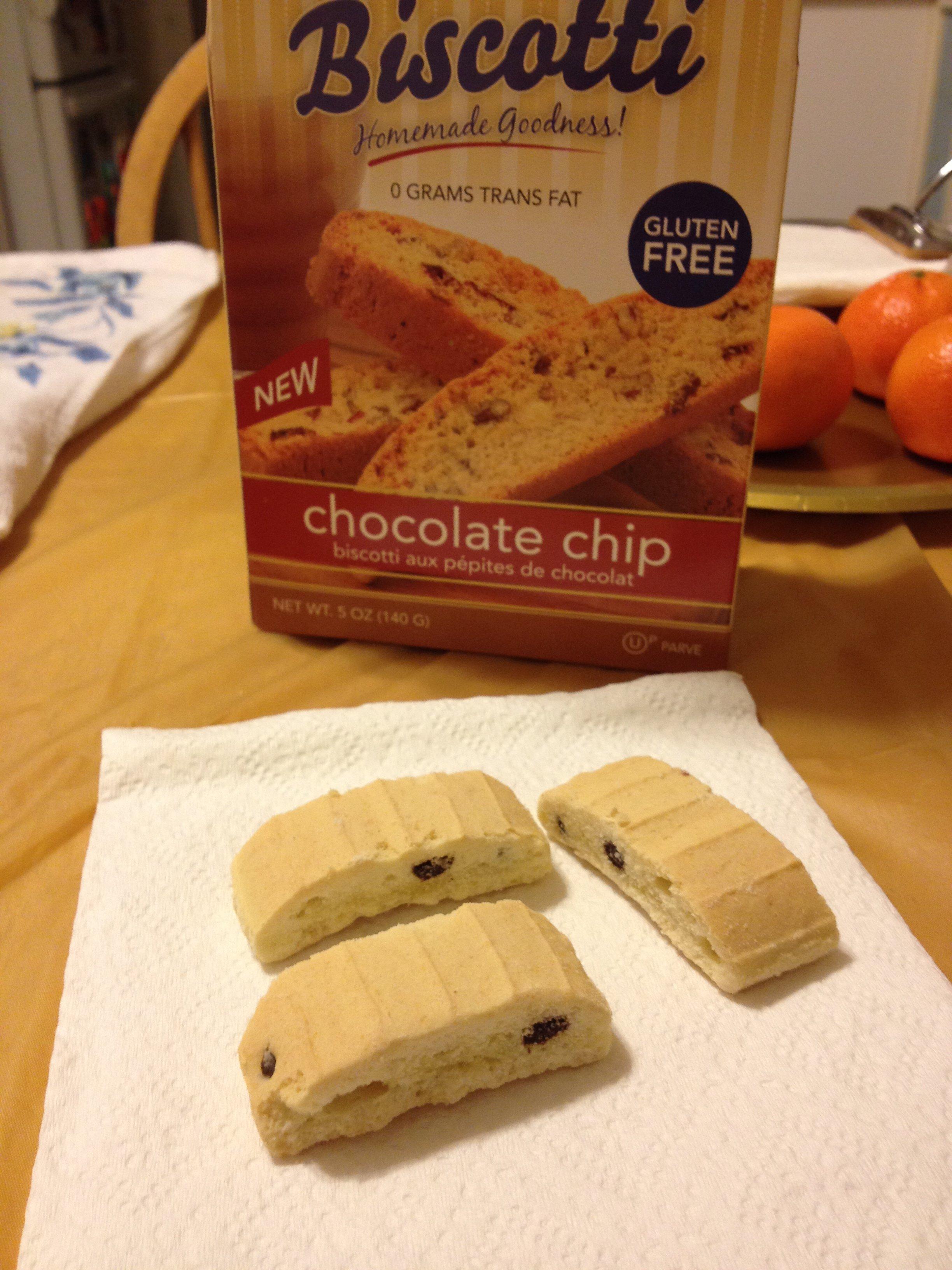 Passover biscotti