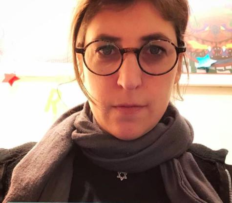 Mayim's Jewish Star necklace