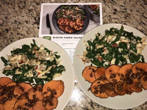 Green Chef Winter Farro Salad