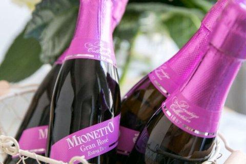 Mionetto Mini Rosé bottles