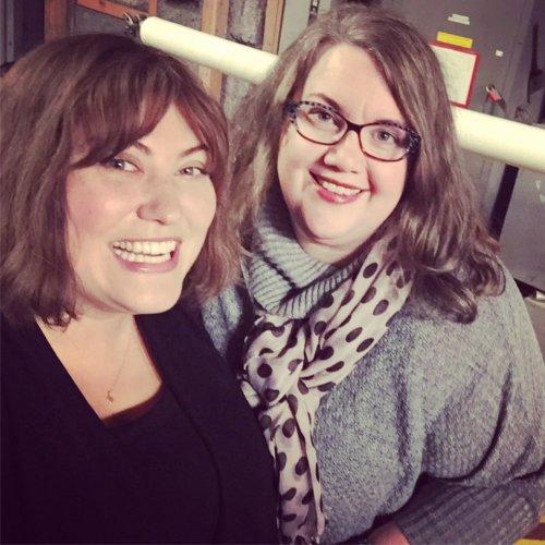 Dietland author Sarai Walker with Joy Nash