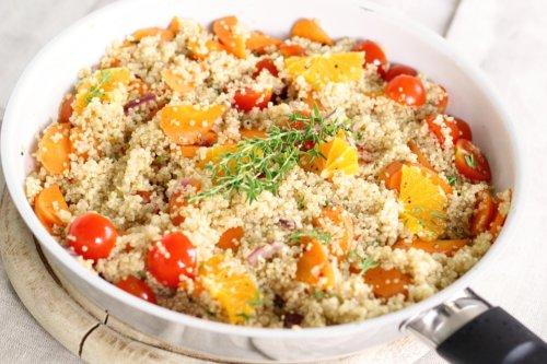 Vegan Quinoa and Vegetables Dish