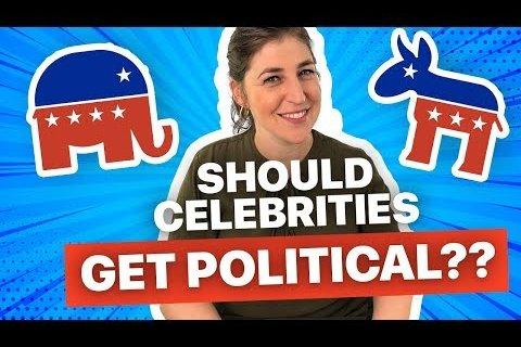 When celebrities and politics mix…