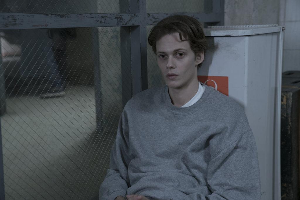 Bill SkarsgŒard as a prisoner in Shawshank in 'Castle Rock'
