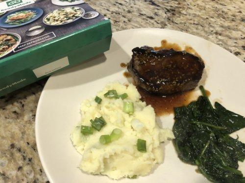 GoReadyMade Soy-glazed steak