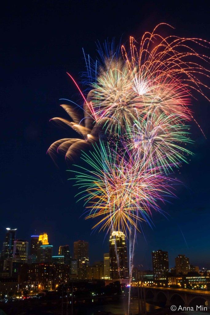 Anna Min fireworks