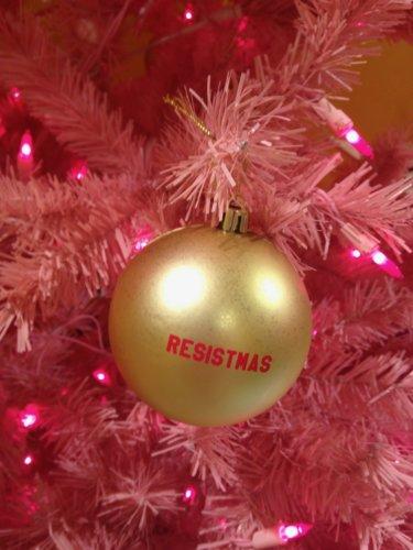 Resistmas ornament
