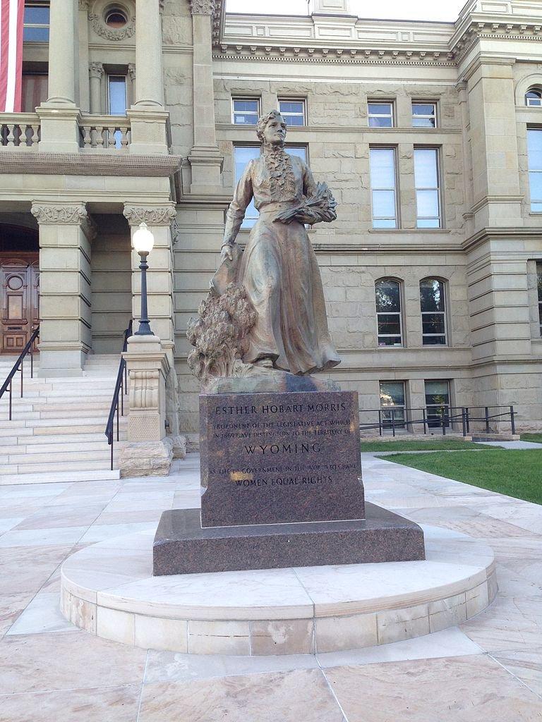 Esther Morris statue