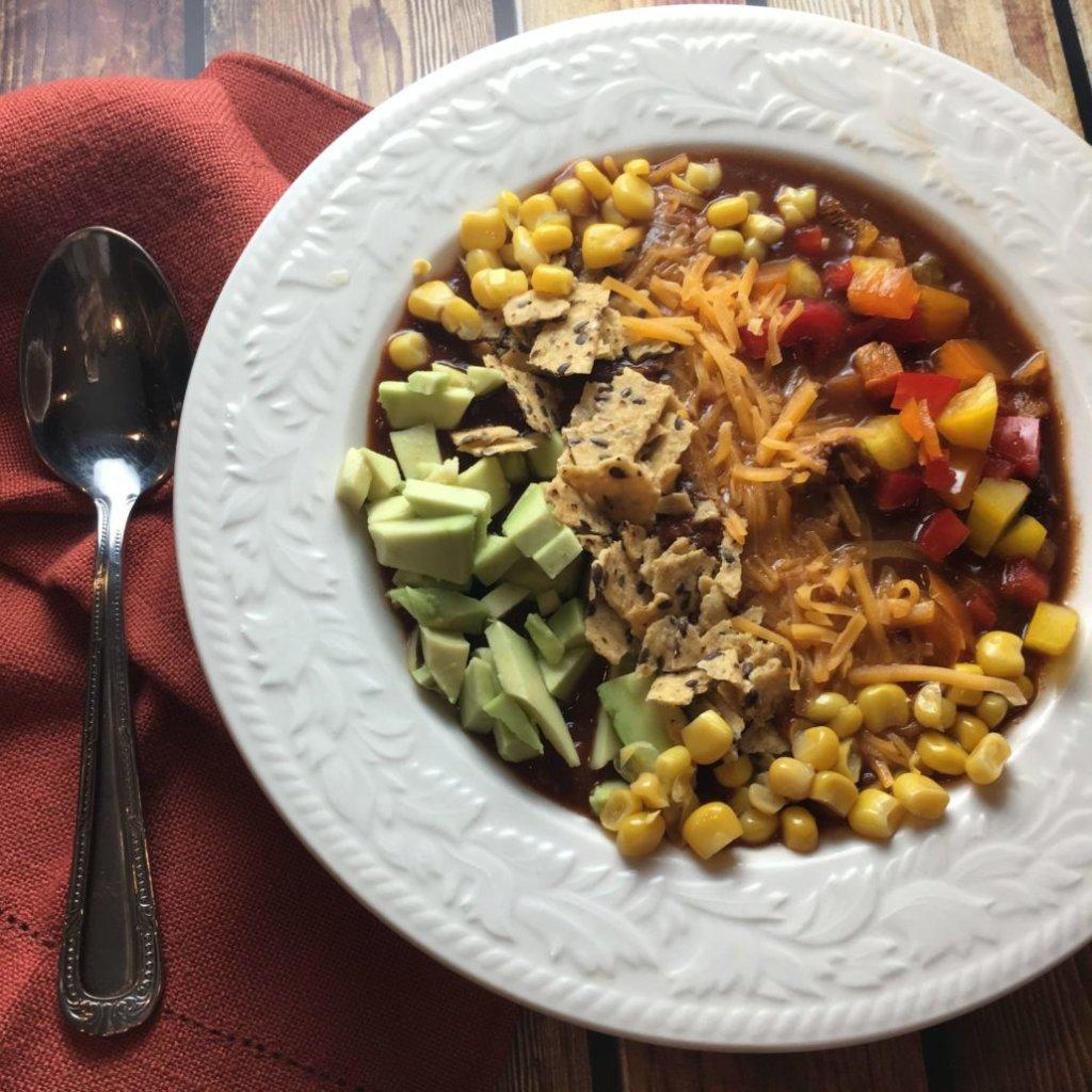 Meatless Monday chili