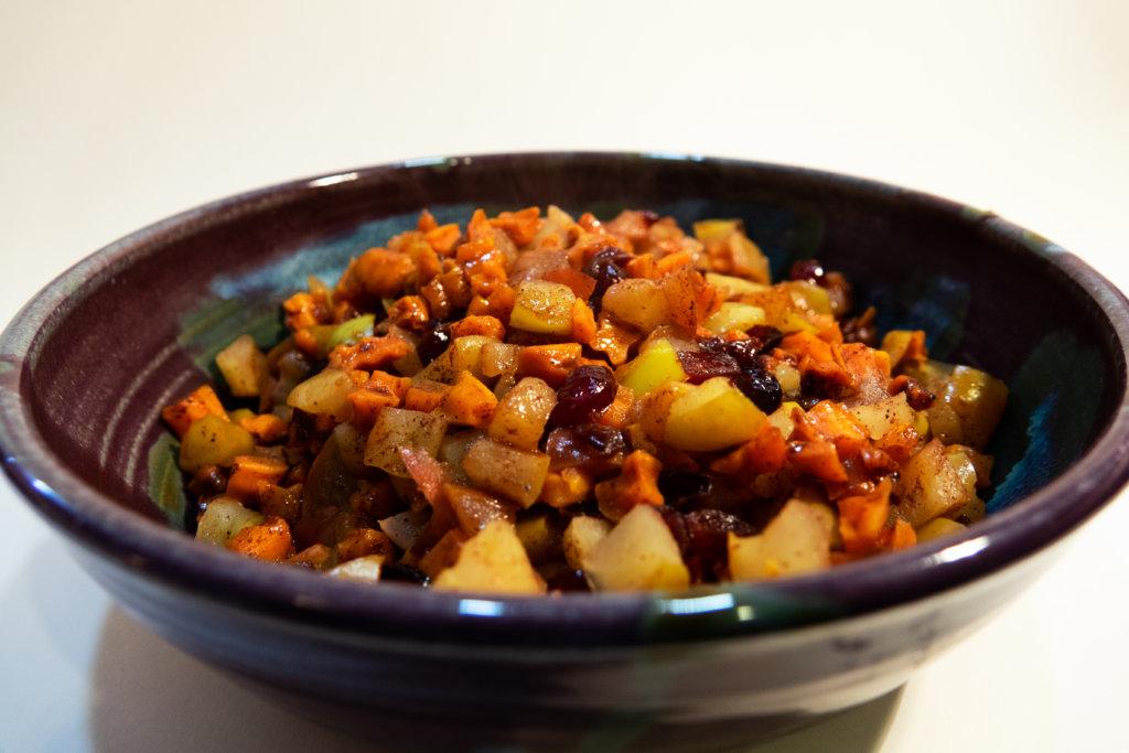 Apple and Sweet Potato Dish