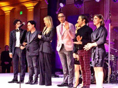 Big Bang Theory series finale wrap party